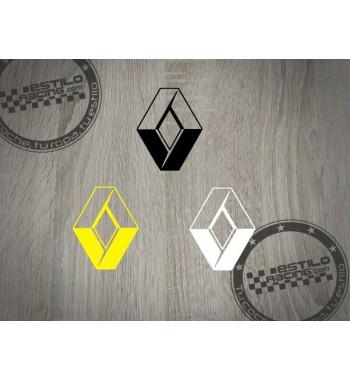 Pegatina Renault logo