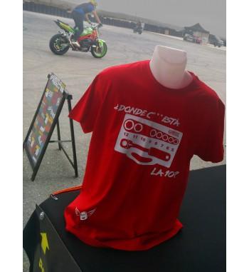 Camiseta Estilo Racing Donde está la 10?