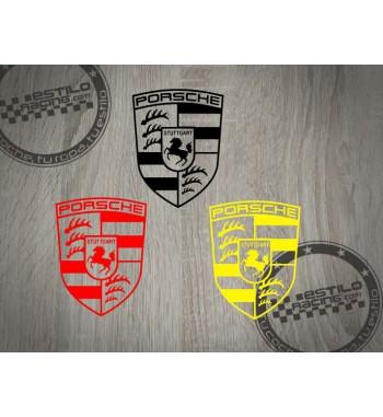 Pegatina Porsche logo