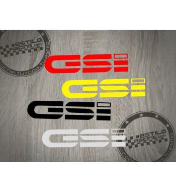 Pegatina GSI Opel
