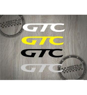 Pegatina GTC Opel 1