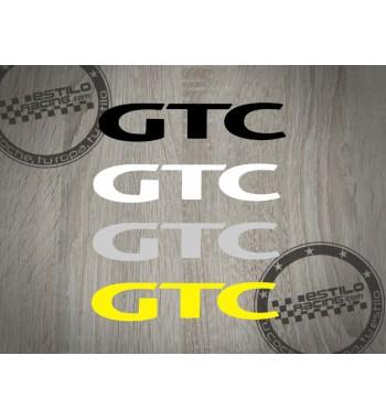 Pegatina GTC Opel 2