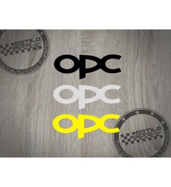 Pegatina OPC