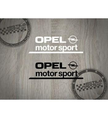Pegatina Opel Motorsport