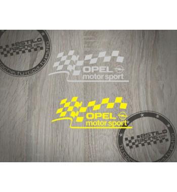 Pegatina Opel Motorsport...