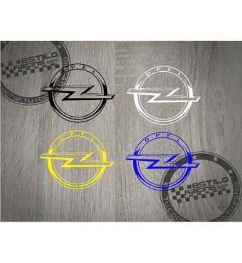 Pegatina Opel logo redondo 3D