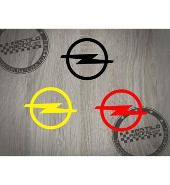 Pegatina Opel logo redondo