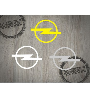 Pegatina Opel logo redondo...