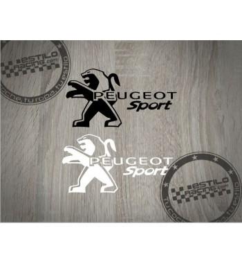 Pegatina Peugeot Sport con...