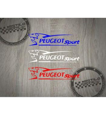 Pegatina Peugeot Sport leon