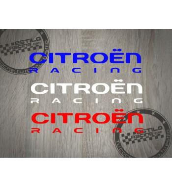 Pegatina Citroen Racing