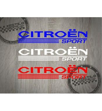 Pegatina Citroen Sport