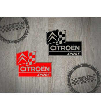 Pegatina Citroen Sport...