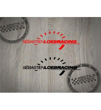 Pegatina Citroen Loeb Racing