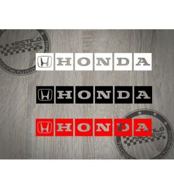 Pegatina Honda cuadros