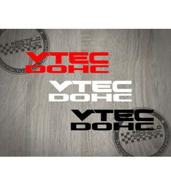Pegatina VTEC DOHC Honda