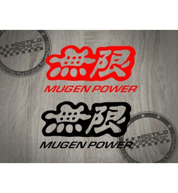 Pegatina Mugen Power Honda