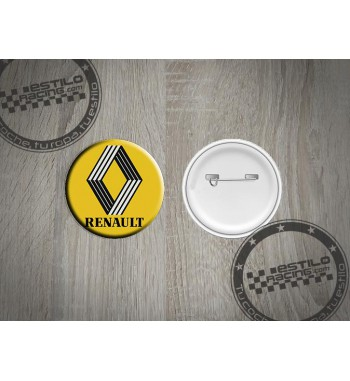 Chapa Renault clasico