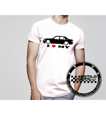 Camiseta I love my E90