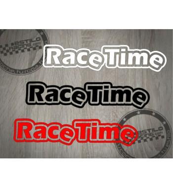 Pegatina Race Time 1