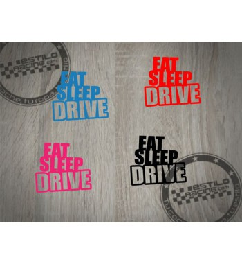 Pegatina Eat Sleep Drive