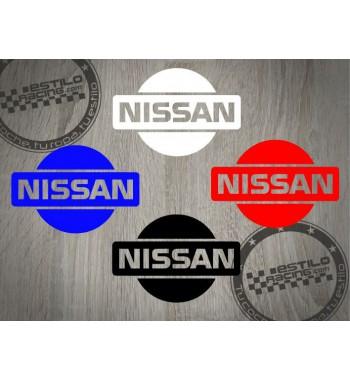 Pegatina Nissan logo