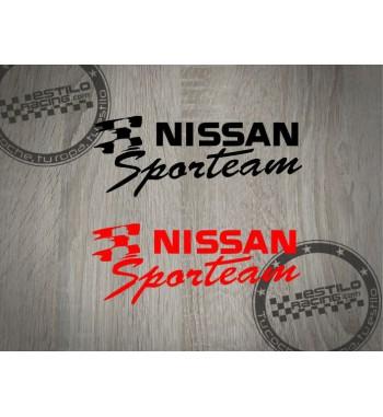 Pegatina Nissan Sportteam