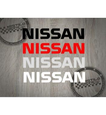 Pegatina Nissan