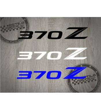 Pegatina 370Z Nissan