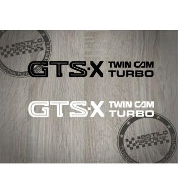 Pegatina Nissan GTS X
