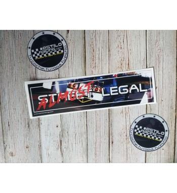 Pegatina Slap Street Legal...