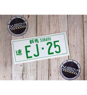 Pegatina Subaru EJ25
