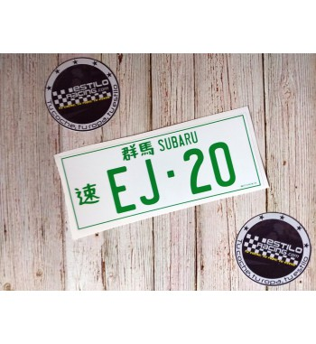 Pegatina Subaru EJ20