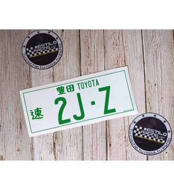 Pegatina Toyota 2JZ