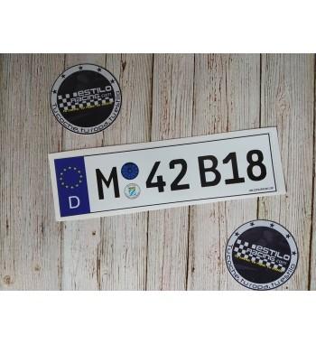 Pegatina M42B18 BMW