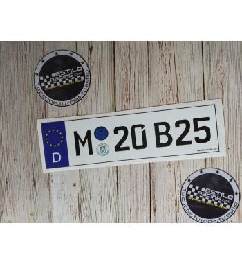 Pegatina M20B25 BMW