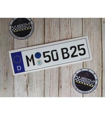 Pegatina M50B25 BMW