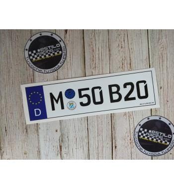 Pegatina M52B20 BMW