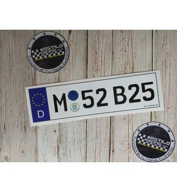 Pegatina M52B25 BMW