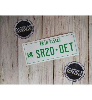 Pegatina Nissan SR20DET