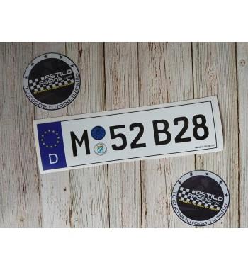Pegatina M52B28 BMW