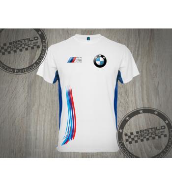 Camiseta técnica BMW M colores