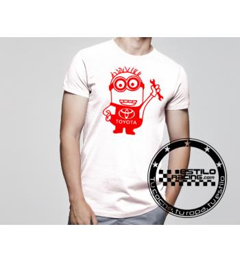 Camiseta Minion Toyota