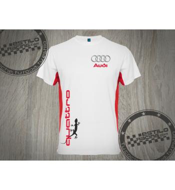 Camiseta técnica Audi Quattro