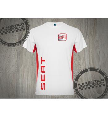 Camiseta técnica Seat logo...