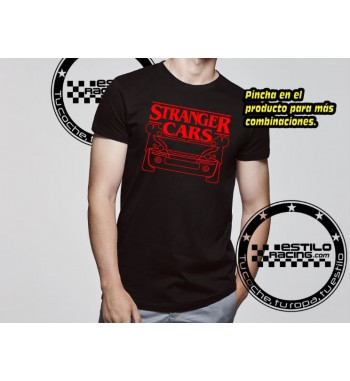 Camiseta Stranger Cars