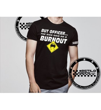 Camiseta Officer Burnout