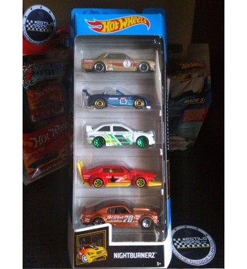 Hot Wheels Pack 5...