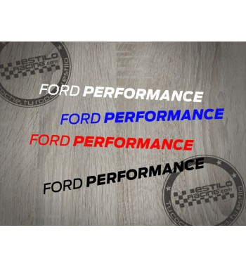 Pegatina Ford Performance