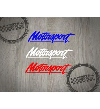 Pegatina Ford Motorsport